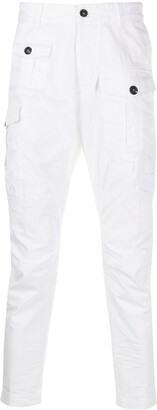 DSQUARED2 Cropped Tapered Cargo Trousers