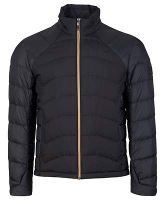 BOSS Jai Sarito Quilted Jacket Colour: BLACK AND GOLD, Size: SMALL