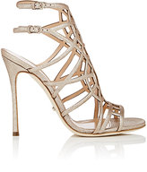 Sergio Rossi Women's Puzzle Sandals-GOLD