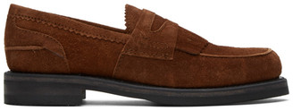Our Legacy Brown Suede Loafers
