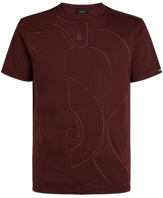 Stefano Ricci Embroidered Logo T-Shirt