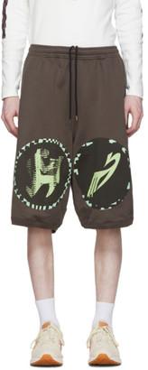 KIKO KOSTADINOV Brown and Green Louisville Wide Shorts