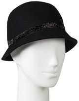Merona Women's Velvet Sparkle Band Cloche Hat Black