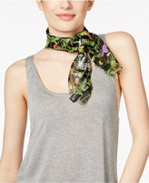 INC International Concepts Butterfly Embroidered Square Scarf, Only at Macy's