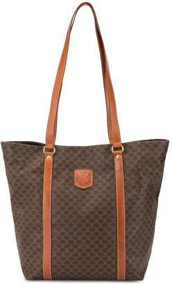 Celine Pre-Owned Macadam Pattern Shoulder Tote Bag
