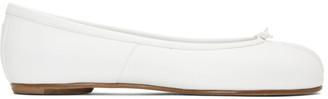 Maison Margiela White Tabi Ballerina Flats