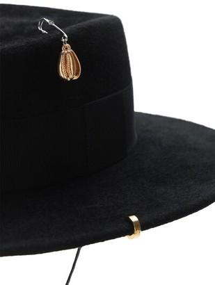 Ruslan Baginskiy Piercing Felted Hat