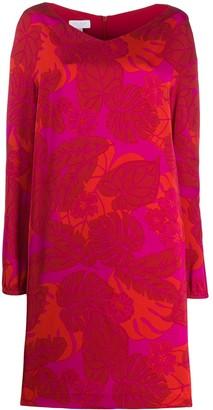 Escada Sport Leaf Print Jumper Dress