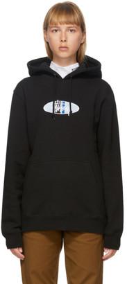 Stussy Black 2 Bar Logo Hoodie