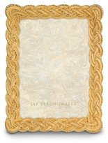 "Jay Strongwater Braided 5"" x 7"" Frame"