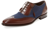 Mezlan Broguing Leather Oxford