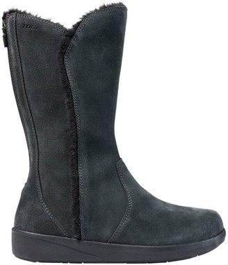 L.L. Bean L.L.Bean Women's Waterproof Nordic Boots with Arctic Grip, Suede