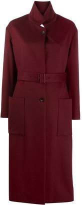 Salvatore Ferragamo Belted Single-Breasted Coat