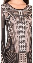 Temperley London Sphynx Knit Pencil Dress
