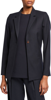 Victoria Victoria Beckham Bow-Back Tailored Jacket