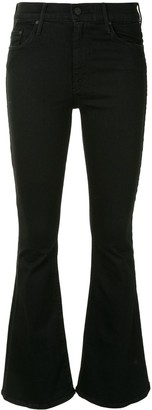 Mother The Weekender mid-rise flare jeans