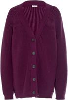 Miu Miu Oversized Wool Cardigan