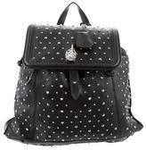 Alexander McQueen Studded Skull Padlock Backpack