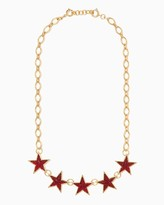 Charming charlie Star Spangled Statement Necklace