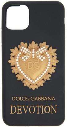 Dolce & Gabbana Black Devotion iPhone 11 Pro Max Case