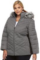 ZeroXposur Plus Size Colleen Hooded Puffer Jacket