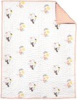 Nurseryworks Nursery Works Hand-Quilted Blanket - Menagerie