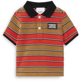 Burberry Kids Logo Polo Shirt (6-24 Months)
