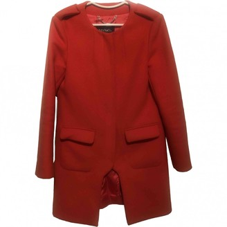 Max & Co. Orange Wool Coat for Women
