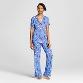 Nite Nite Munki Munki Women's Nite Nite Munki Munki® Pajama Set - Hipster Llamas Print