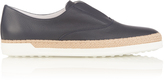 Tod's Leather espadrille trainers