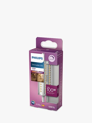 Philips 14W R7s LED Dimmable Tube Bulb, Clear