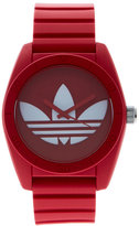 adidas ADH6168 Red & White Watch