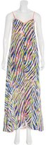 Trina Turk Silk Abstract Print Dress