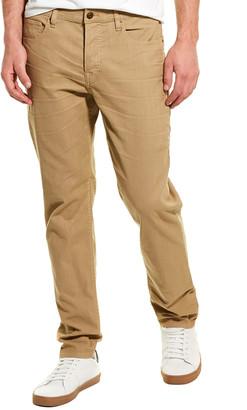 Hudson Sartor Khaki Relaxed Skinny Leg