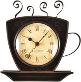Asstd National Brand FirsTime Coffee Cup Clock