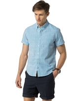 Tommy Hilfiger Final Sale- Slim Fit Short Sleeve Shirt