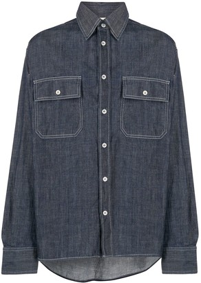 Marni Denim Long Sleeve Shirt