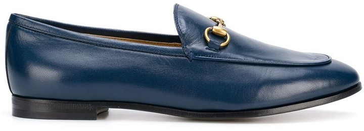 Gucci Jordaan Leather Loafer   Shop the