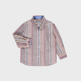 Paul Smith Baby Boys' Signature Stripe Cotton 'Linford' Shirt
