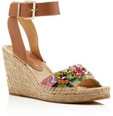 Ivanka Trump Dixi Embellished Wedge Espadrille Sandals