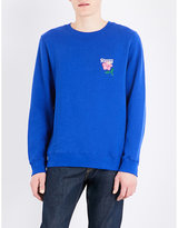 Stussy California Appliqué Cotton-blend Sweatshirt