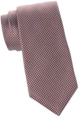 Kiton Houndstooth Silk Tie