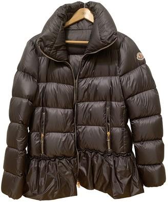 Moncler Classic Grey Coat for Women