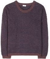 Closed Striped wool and alpaca-blend sweater