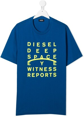 Diesel Deep Space graphic print T-shirt