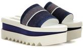 Stella McCartney Slide Denim Sandals