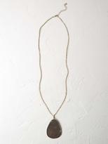 White Stuff Semi precious pendant necklace