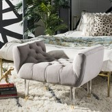 Bronx Bree Upholstered Bench Ivy Upholstery: Pale Taupe