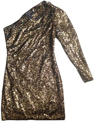 Simona Corsellini Gold Glitter Dress for Women