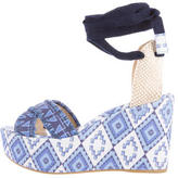 Theodora & Callum Theodora Callum Lobiarritz Wedge Sandals w/ Tags